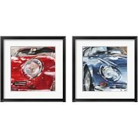 Framed Sportscar Collection 2 Piece Framed Art Print Set