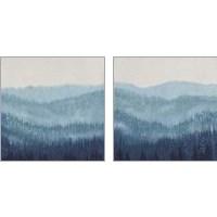 Framed Smoky Ridge 2 Piece Art Print Set