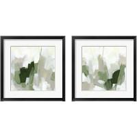 Framed Emerald Fragment 2 Piece Framed Art Print Set
