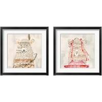 Framed Lids Bear 2 Piece Framed Art Print Set