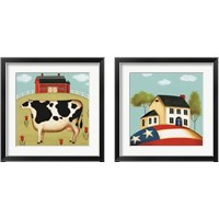 Framed My Home 2 Piece Framed Art Print Set