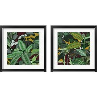 Framed Jungle Safari 2 Piece Framed Art Print Set