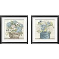 Framed Blessed & Grateful 2 Piece Framed Art Print Set