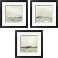 Framed Winter Reflections 3 Piece Framed Art Print Set