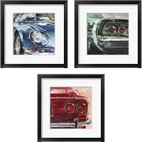 Framed Sportscar Collection 3 Piece Framed Art Print Set