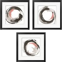 Framed Hake Clay 3 Piece Framed Art Print Set
