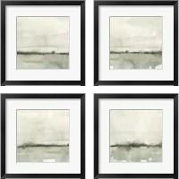 Framed Winter Reflections 4 Piece Framed Art Print Set