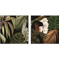 Framed Jungle Night 2 Piece Art Print Set