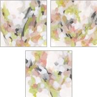 Framed Dogwood Prism 3 Piece Art Print Set