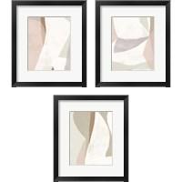 Framed Symphonic Shapes 3 Piece Framed Art Print Set
