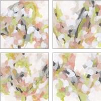 Framed Dogwood Prism 4 Piece Art Print Set