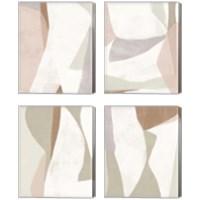 Framed Symphonic Shapes 4 Piece Canvas Print Set