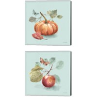 Framed Autumn in Nature 2 Piece Canvas Print Set