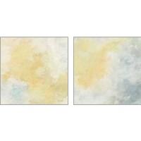 Framed Golden Sky 2 Piece Art Print Set