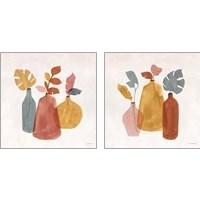 Framed Terracotta  2 Piece Art Print Set