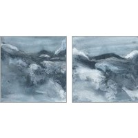 Framed Granite 2 Piece Art Print Set