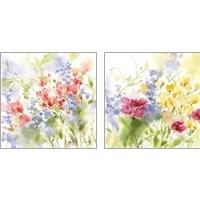 Framed Spring Meadow 2 Piece Art Print Set