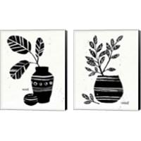 Framed Botanical Sketches 2 Piece Canvas Print Set