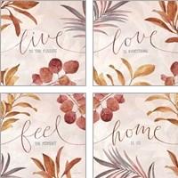Framed Terra Inspiration 4 Piece Art Print Set