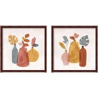 Framed Terracotta  2 Piece Framed Art Print Set