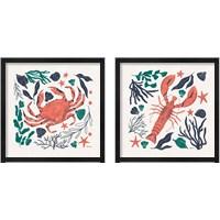Framed Coastal Reef 2 Piece Framed Art Print Set