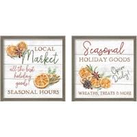 Framed Seasonal Market 2 Piece Framed Art Print Set