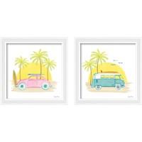 Framed Beach Cruiser 2 Piece Framed Art Print Set